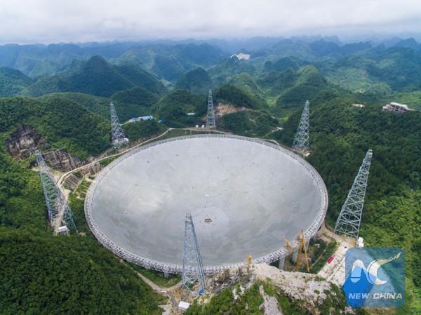 В Китае построили самый большой телескоп в мире