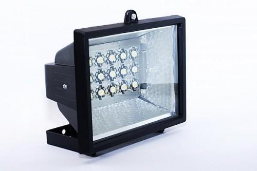 Как сделать светодиодный прожектор