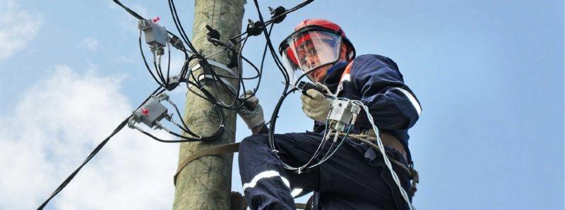 Как совершить монтаж СИП кабеля от столба к дому