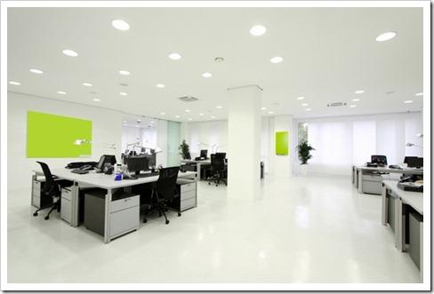Варианты организации освещения в офисах