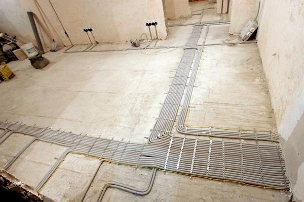 Разводка электропроводки в квартире