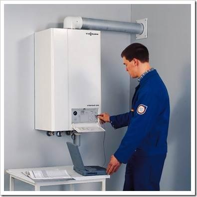 Монтаж электрического котла отопления